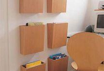 Organização  nos ambientes da Casa