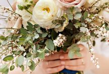 Bouquets: Romantic / A popular wedding theme for 2015 will be soft, romantic and feminine flowers.