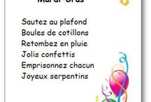 Mat. - FETES : Chandeleur - Carnaval