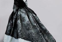 Chantilly lace Mourning Shawl