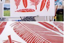 Printmaking / Inspiration for printmaking
