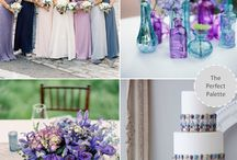 Blue & Purple Weddings