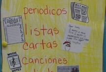 Material en espanol / by Carmen Zuniga