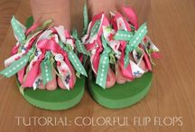 Cool Summer Flip Flops / by Becky Smith