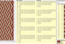 Brikkebånd - mønster