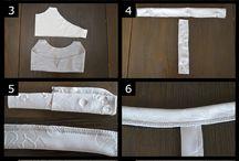 Ompelujutut / Ideoita helppojen+ vaatteiden ja asusteiden valmistukseen.