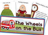 Nursery Rhymes - Teaching Ideas - Activities - Art & Crafts for Children.