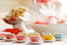 Birthday Party {Tea Party Ideas} / Ideas for a child's tea party. / by Kim {The Celebration Shoppe}