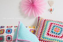 Cushions and Pillows / Essential to a crocheter's home