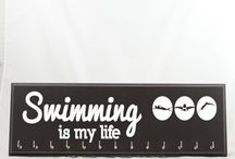 swimming displays / by Strut Your Stuff Sign Co