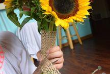 bouquet making
