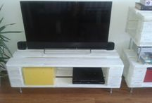 palet tv stand