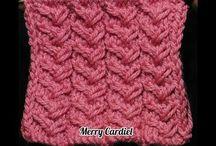 tranças em tricot