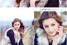 Poze fete iarna