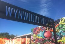 We Love Miami / Don't miss the wonderful Wynwood District of Miami featuring the beautiful murals of Wynwood Walls. The entire neighborhood  is like a living art museum.