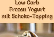 Eis und Frozen Yoghurt