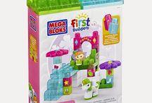 Mega Bloks First Builders new items reviewed--80455 Waterfall Garden (30PCs)