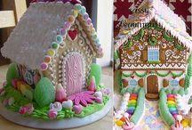 Baking - Gingerbread Houses