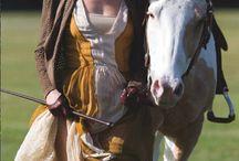 Fantasykunst Frauen mit Pferd