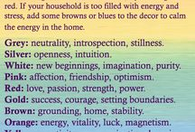Feng Shui & Coulours