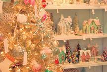 Merry Village / Festive Christmas villages to make, purchase, or admire