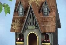 Bird Houses/Birdbath / by Oldcornerstore