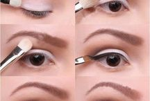 Socket Line/Crease / think old hollowood eyes here the eye crease is defined in a darker colour which adds depth to the eyes and usually suits a rounder doe eye type look.