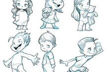 Cartoon kids