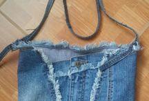 moje kabelky z rifli na predaj