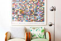 interiéry - barvy