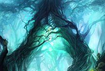 Illustrations ... Fantasy world