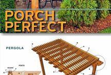 porch de madera