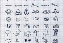 lettering & doodles