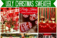 Annual Ugly Sweater Party / by Ashley Cooley
