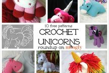 amigurummi mythical / dragons, fairies, faerie houses and other mythical creatures