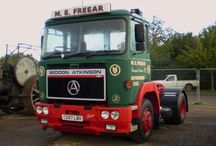 T SEDDON ATKINSON TRUCKS / British constructor of trucks,for every kind of job,mostly seing in United Kingdom (UK).