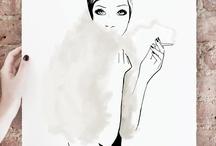 * illustrations + drawings *