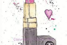 Fashion image illustration