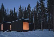 architecture - four-cornered villa, avanto architects, finland