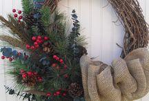 DEKORACE vánoční a zimní