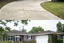 Landscaping - Before and After / by Mary Lou
