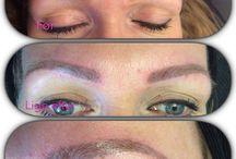 Permanent makeup / Vil du spare tid i hverdagen? Hvorfor så ikke spare tid på makeuppen? Hos Visage lægger vores professionelle makeup artister og kosmetologer den permanente makeup på dig. Med en permanent makeup er du smuk 24 timer i døgnet.  Med permanent makeup er det muligt at skabe symmetri, at give brynene kontur ved hjælp af naturlig hårpåtegning, løfte øjet, markere vippelinjen, markere læbernes naturlige linje eller give munden mere fylde.