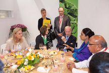 "Anuga Trade Fair 2015 / Chaired a Roundtable meeting with representatives from processing technology companies held at Cologne, Germany, under Prime Minister's ""Make in India"" initiative. Visited various stalls by different countries and held meetings with various people involved in food processing industry from across the world. A great learning experience."
