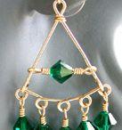 Idées bijoux-boucles d'oreille