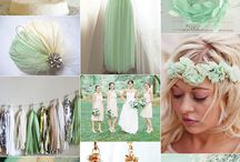 Mint Green , Turquoise Green , Teal Green Wedding / Vintage , shabby chic