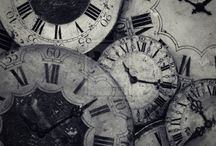 Time keeps on slipping / Oh, my love of clocks / by Get Hugged™