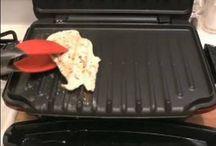 Grill - Posiłki / Posiłki z grilla elektrycznego