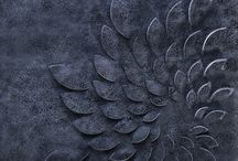 3D Leather Wall Panels / Leather and Design