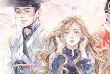 my watercolor illust