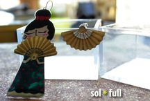 Sol * Full Earrings / Handmade earrings made with love at SolFull - Athens,Greece